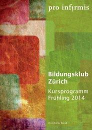 Kursprogramm 1/14 - pdf, 7.0M - Pro Infirmis