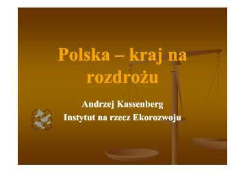 Polska – kraj na rozdrożu