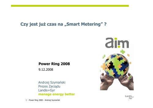 (Microsoft PowerPoint - Andrzej Szyma\361ski Landis Gyr.ppt)