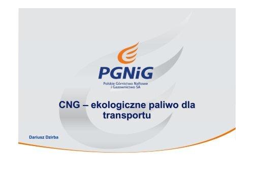 CNG – ekologiczne paliwo dla transportu