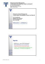 Der Content - Project Consult Unternehmensberatung Dr. Ulrich ...