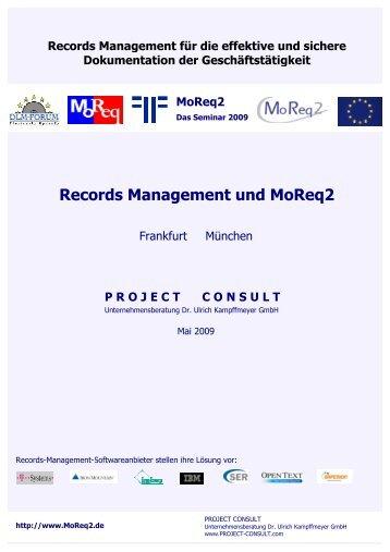 Seminarband - Project Consult Unternehmensberatung Dr. Ulrich ...
