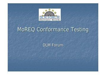MoREQ Conformance Testing