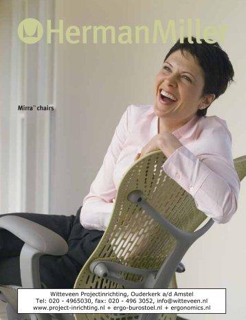 MirraTM chairs - Witteveen Projectinrichting