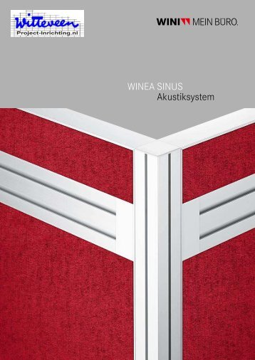 WINEA SINUS Akustiksystem - Witteveen Projectinrichting