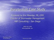 Bioretention Case Study - Project Clean Water