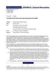 APPENDIX B - Technical Memorandum - Project Clean Water