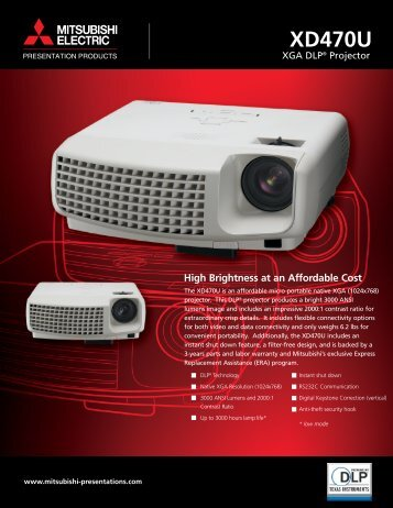Product Sheet - Projector Central