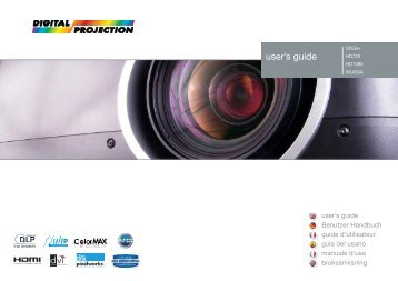 user's guide - Projector Central