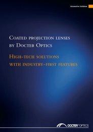 C551 DO Mappe Coatings - Docter® Optics