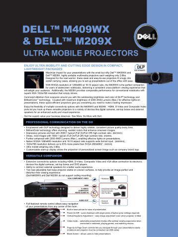 DELL™ M409WX & DELL™ M209X - AVI-SPL