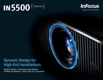 InFocus IN5533 - Projector People