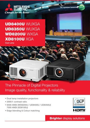 Mitsubishi Electric - Projector Reviews