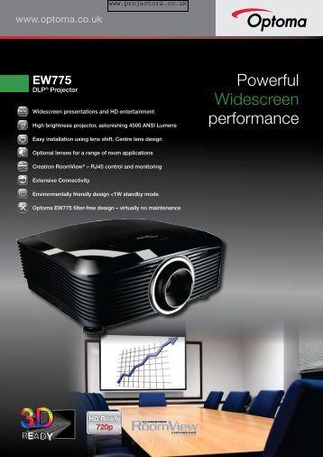 EW775 - Projector