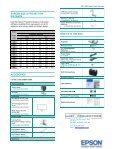 New Product Summary - Projector - Page 2