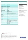 EPSON EB-84L - Projector - Page 2