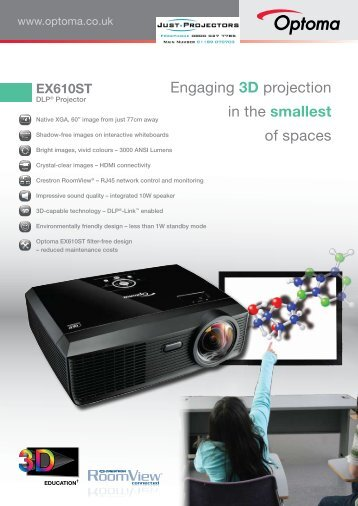 EX610ST - Projector