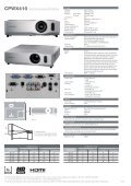 CPWX410 - Projector - Page 2