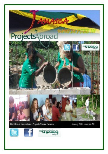 1,77MB Jamaica Newsletter - January 2013 - Projects Abroad