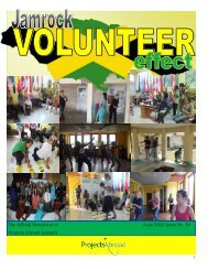 1,44MB Jamaica Newsletter - June 2013 - Projects Abroad