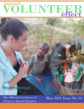 1,63MB Jamaica Newsletter - May 2013 - Projects Abroad