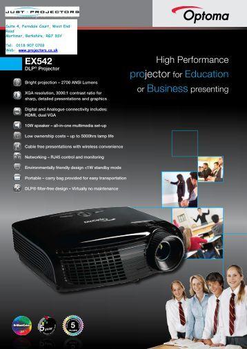 EX542 - Projector