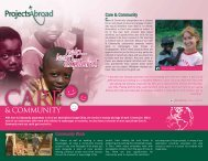 Care & Community Project Profile - Projects Abroad