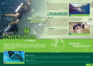 Conservation in Thailand Project Profile - Projects Abroad