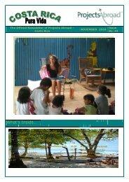 Projects Abroad- Sri Lanka Newsletter