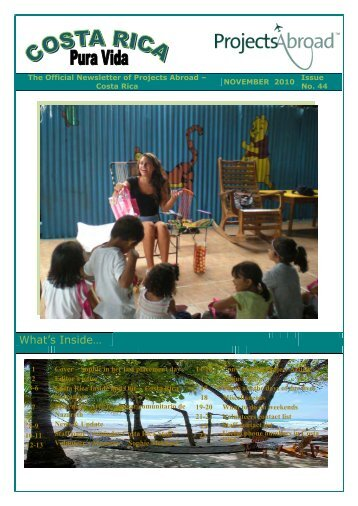 Projects Abroad- Sri Lanka Newsletter