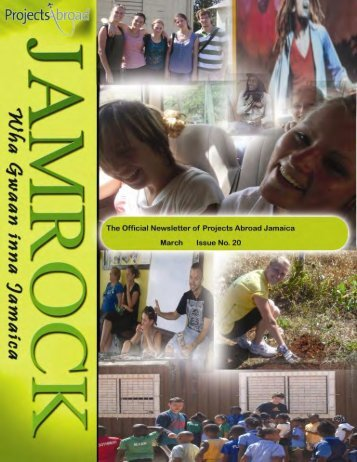 Jamaica Newsletter - March 2010 - Projects Abroad