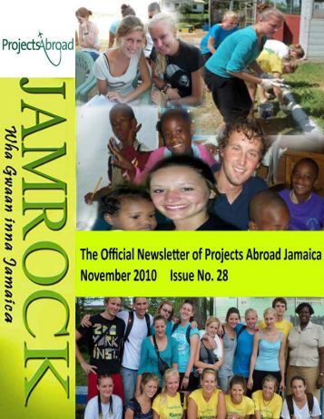 1,18MB Jamaica Newsletter - November 2010 - Projects Abroad
