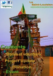 Senegal Newsletter - November 2012 - Projects Abroad