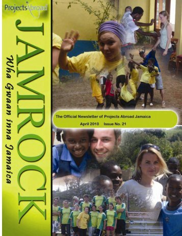 1,51MB Jamaica Newsletter - April 2010 - Projects Abroad