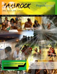 Jamaica Newsletter - Projects Abroad