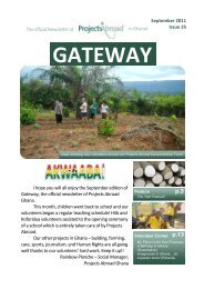 p.3 - Projects Abroad