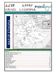 Projects Abroad Ethiopia Official Newsletter March 2010