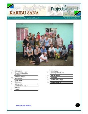 KARIBU SANA - Projects Abroad