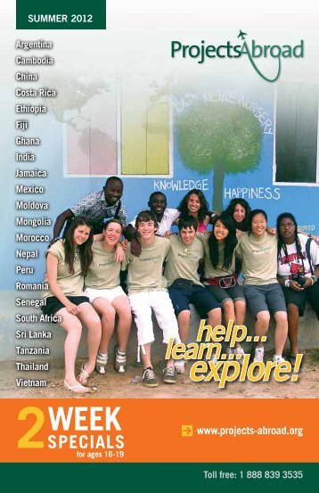 SPECIALS - Projects Abroad