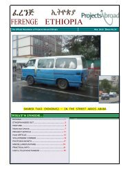 SHARED TAXI (MINIBUS) – IN THE STREET ... - Projects Abroad