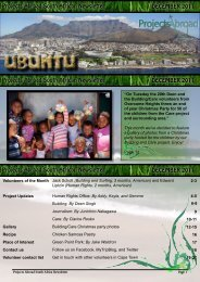 Projects Abroad South African Newsletter DECEMBER 2011 ...