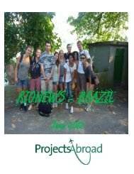 June 2012 - Projects Abroad