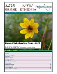 Happy Ethiopian New Year – 2003 - Projects Abroad