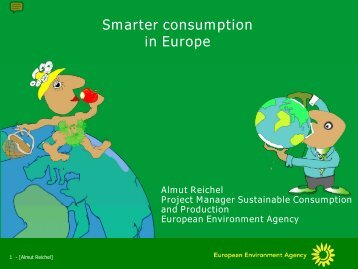 EEA sustainable consumption presentation - Projects