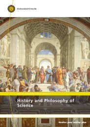 Master brochure History and Philosophy of Science (pdf download)
