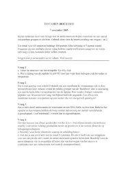 Biochemie tentamen 7-11-2005