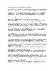 SOS notulen 11-05-2006 - Bètawetenschappen