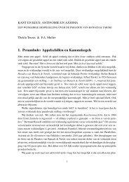 1. Preambule: Appelschillen en Kanonskogels - Universiteit Utrecht