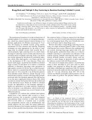 Phys. Rev. Lett., 90, 028304 (2003); PDF file 500KB.