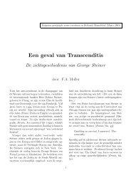 Enigszins gewijzigde versie verscheen in Hollands Maandblad (Maart
